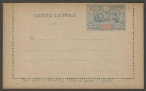 Obock lettercard unused 15c