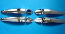 CHROME STAINLESS STEEL DOOR HANDLE COVER SET FOR 2003-2010 BMW E60 5-SERIES