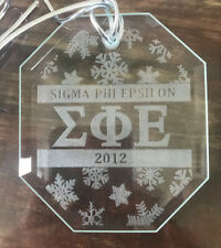 2012 Sigma Phi Epsilon Limited Edition Holiday Ornament 152/1000 (New in Box)