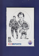 Mark Napier 1987-88 Kraft Sports Hockey Cut Out