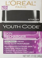 L'Oreal Paris Youth Code Skin Recharger Day/Night Cream, 1.7 Fluid Ounce