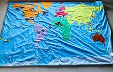 Fao schwartz original world map with all pieces !
