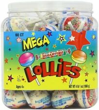 Smarties Mega Double Lollies Tub (Pack of 60) FREE SHIPPING