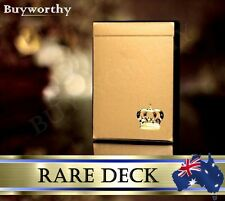 Gold Crown Playing Cards Magic Poker ~ Rare Premium Deck ~ by Fracturize USA