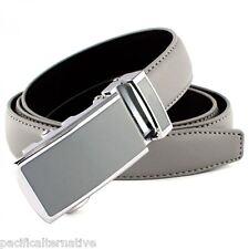 Ceinture grise Taille 48 pour FEMME fille belt grey woman automatique a cliquet