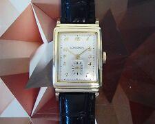 Vintage 1945 Men's Longines Manual Winding Wristwatch 17 Jewels 1 Year Warranty