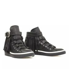 NEW Mexicana Collection Isis Bukle High Top Sneakers Size 39.5 Black Boots