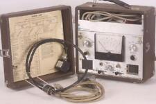 Vintage Motorola Portable Test Set Transmitter Receiver