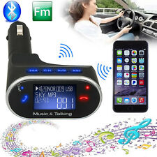 Car Kit LCD MP3 Player Wireless Bluetooth FM Transmitter +Remote SD USB Charger