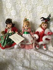 Madame Alexander Christmas Lot: Home For Holidays, Candy, & Winter Fun Lot