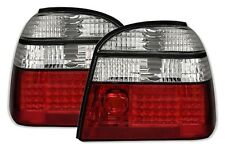 FEUX ARRIERE LED BLANC ROUGE CRISTAL GOLF 3 1991-1997 ATLANTA ECOMATIC ROLLING