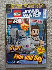 LEGO Star Wars - Rare - German Comic/Magazine w/ 911615 AT-AT foil pack set
