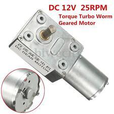Mental Gear Reversible High Torque Turbo Worm Geared Motor DC 12V GW370 25rpm