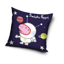 NEW PEPPA PIG George Pig astronaut cushion cover 40x40cm pillow case