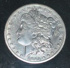 1893 - C C Morgan  Silver Dollar, mint closed after this year  LAST YEAR