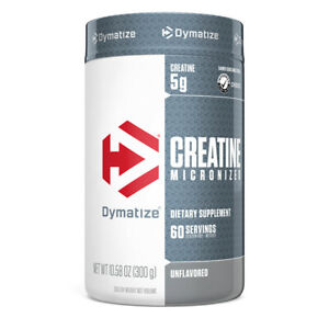 Dymatize Nutrition Creatine Micronized Unflavored Monohydrate 10.6 oz (300 g)