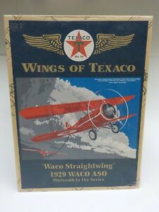 ERTL Wings Of Texaco 1929 Waco ASO Waco Straightwing #13 in Series Coin Bank
