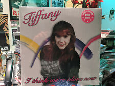 TIFFANY - I Think We're Alone Now Lim. Ed. Pink Vinyl Voices Carry Forever Young