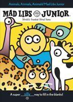 Animals, Animals, Animals! Mad Libs Junior, Paperback by Price, Roger; Stern,...