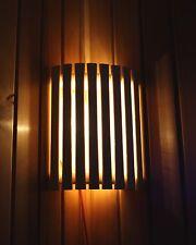 Sauna Lampe set sauna Lampe holzblendschirm tremble silicone Câble 3 pièces set