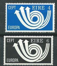 IRLANDA EUROPA cept 1973 Sin Fijasellos MNH