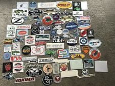 80 Fishing Stickers/Decals  Marsh Real Tree Scientific Angler  Tsunami Gruv NRS