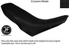 BLACK VINYL CUSTOM FITS GILERA GSM 50 DUAL SEAT COVER ONLY