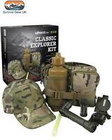 Kids BTP Army Outdoor Explorer Kit - Camouflage Children Roleplay Activity