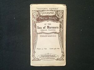 Vintage Map - Victory Series (post WWI) MAP OF THE SEA OF MARMARA