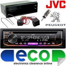 PEUGEOT 307 CC SW 2001-05 JVC Bluetooth CD MP3 USB VOITURE STEREO Fascia Kit de montage