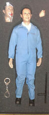 """1/6 Our World 12"""" Hannibal figure in Prison clothes w/ extra bloodied head MIB"""