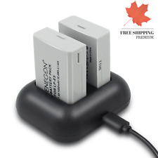 LP-E5 Replacement Battery 2-Pack and Rapid Dual Charger for Canon LP-E5 and C...