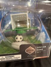 Hand Held Desk Soccer Game Globe! With Fun lights & Cheering Sounds! Fun Gift!