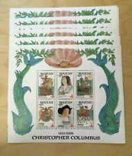 SPECIAL LOT Bhutan 1987 584-9 - Columbus - 30 Sets of 6v - MNH
