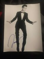 JACOB WHITESIDES SIGNED 8X10 PHOTO SUIT W/COA+PROOF RARE WOW