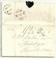 * 1830 RARE MONTROSE ARCS AT TOP CDS ROBERT TAYLOR KIRKTONHILL> W WALKER SPILSBY