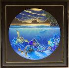 "Dale Zarrella Original Oil On Canvas 43"" Diameter Hawaii Artist (Wyland style)"