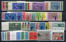 Europa Cept 1962 Eternity Complete 39 Values 18 Countries MNH