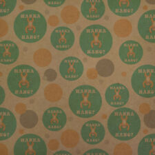 Wanna Hang Want Sloth Funny Humor Premium Kraft Gift Wrap Wrapping Paper Roll