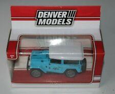 1/43 1:43 Toyota FJ40 Land Cruiser Diecast Model Blue  Denver Models NEW
