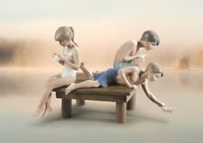 Lladro Paper Boats Figurine 1009258.New In Box