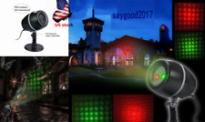 180° Moving Laser Red/Green Star Light Home Projector Outdoor Lights prom Party