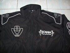 NEU SCANIA V8 King of the Route Fan-Jacke schwarz jacket veste jas giacca jakka