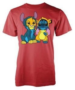 Stitch Lion King Mashup Adult T Shirt