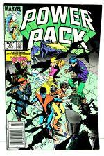 Power Pack #12 Kitty Pryde Nightcrawler UPC Newsstand 1985 Marvel Comics G-/G