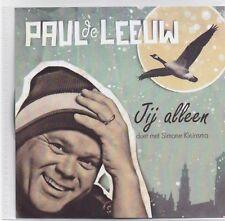 Paul De Leeuw -Jij Alleen Promo cd single
