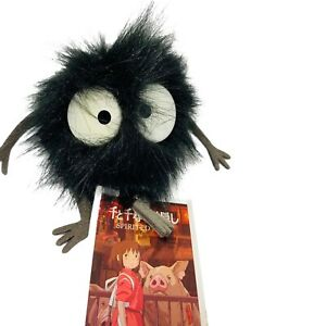 "Gund Ghibli Spirited Away Soot Sprite 2"" Black Stuffed Plush New Window Cling"