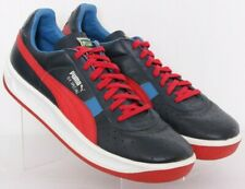 Puma 343569 55 GV Special Navy Blue Lace-Up Leather Casual Sneakers Men's US 13