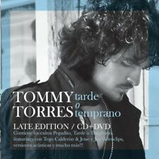 Tommy Torres : Tarde O Temprano Latin Pop/Rock 2 Discs Cd