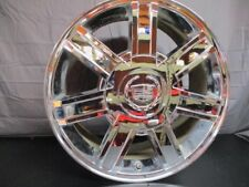 Wheel RIM 18x8 7 Spoke CHROME Finish Opt PW2 Fits 07-14 ESCALADE 1754474